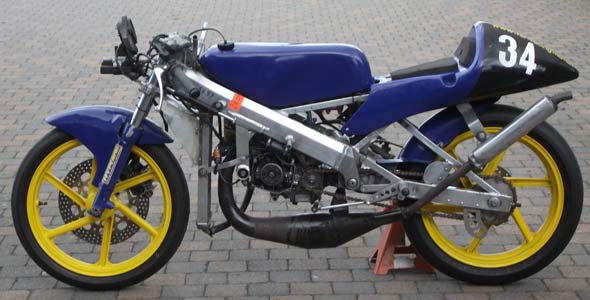 Motorlife Be  U2013 Honda Rs125 Productieracer